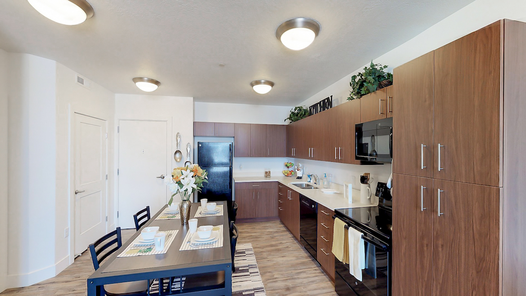 Promenade Place Orem Apartments Kitchen