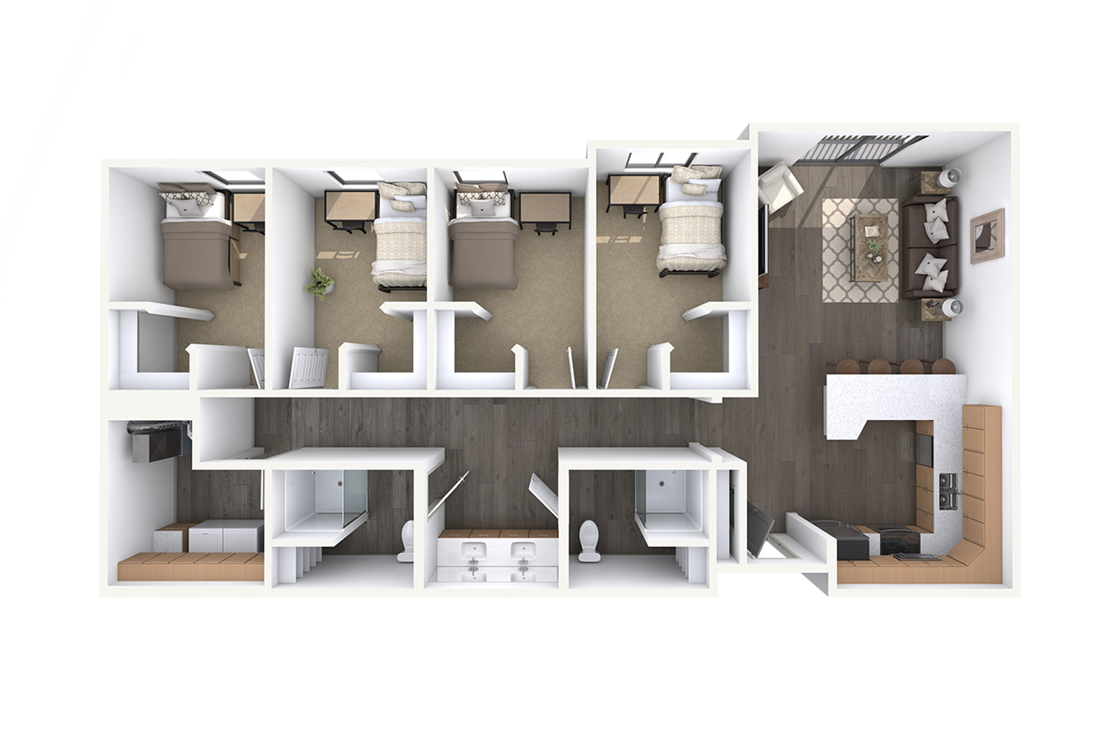 Orem Student Housing Floor Plans